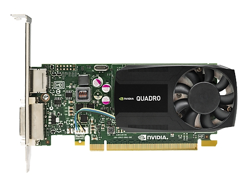 Видеокарта профессиональная HP Quadro K620 PCI-E 2.0 2048Mb 128 bit DVI, вид 1