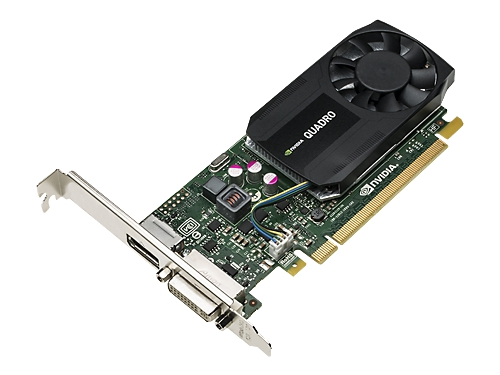 Видеокарта профессиональная HP Quadro K620 PCI-E 2.0 2048Mb 128 bit DVI, вид 2