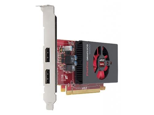 ���������� Radeon HP FirePro W2100 2GB, PCIe x16 DVI, DP J3G91AA, ��� 2