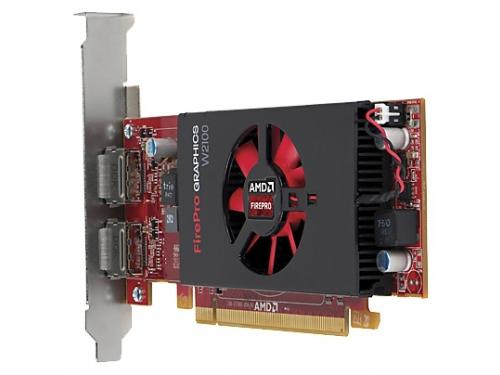���������� Radeon HP FirePro W2100 2GB, PCIe x16 DVI, DP J3G91AA, ��� 3