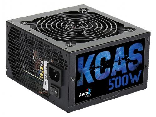 Блок питания AeroCool KCAS-500W, вид 1