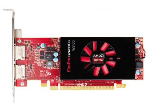 Видеокарта профессиональная AMD FirePro W2100 PCI-E 3.0 2048Mb 128 bit (100-505821), вид 1