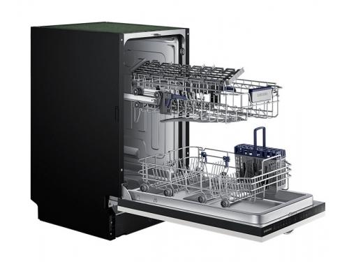 Посудомоечная машина Samsung DW50H4030BB/WT, белая с чёрным, вид 4