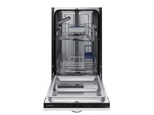 Посудомоечная машина Samsung DW50H4030BB/WT, белая с чёрным, вид 5