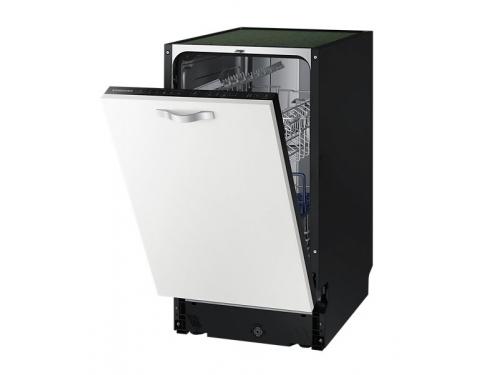 Посудомоечная машина Samsung DW50H4030BB/WT, белая с чёрным, вид 2