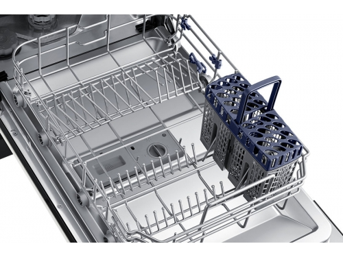 Посудомоечная машина Samsung DW50H4030BB/WT, белая с чёрным, вид 3