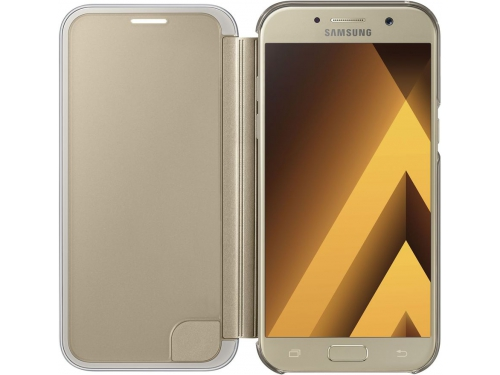 Samsung Galaxy A5 (2017) Clear View Cover, золотистый