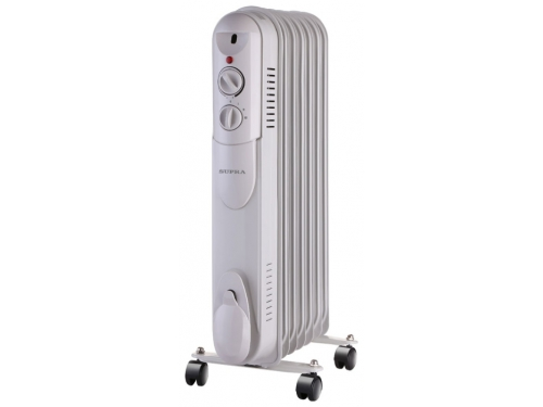 Обогреватель SUPRA Радиатор ORS-07-S1, белый ORS-07-S1 white