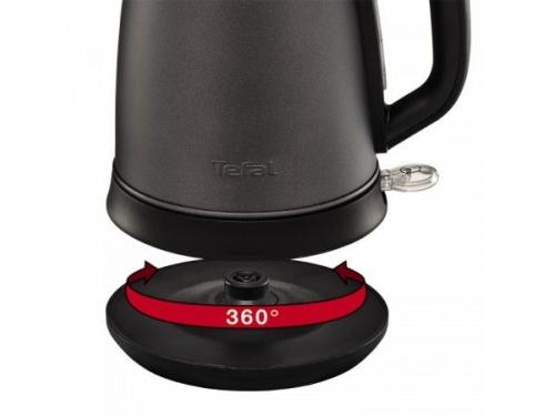 Чайник электрический Tefal KI270930 , серый, вид 3