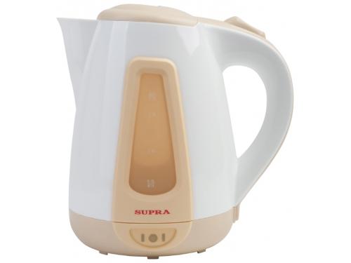 Чайник электрический SUPRA KES-1704 белый и бордовый