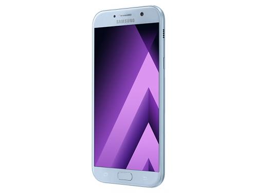 Смартфон Samsung Galaxy A7 (2017) SM-A720F, голубой, вид 1