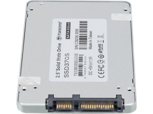 Жесткий диск Transcend TS128GSSD370S, 128Gb (SSD, SATA3), 7 мм, вид 2