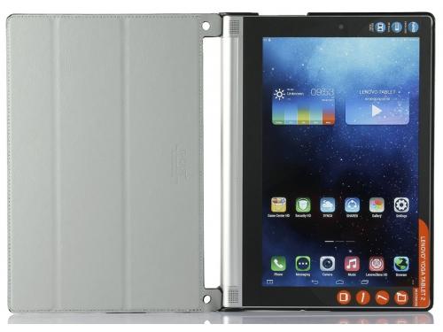 Чехол для планшета G-Case Slim Premium для Lenovo Yoga Tablet 2 10.1, металик, кожа, вид 2