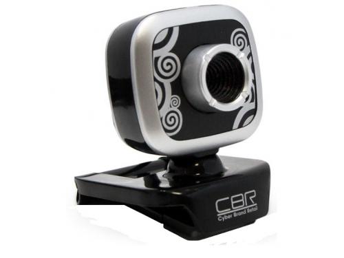 Web-камера CBR CW 835M, серебристая, вид 1