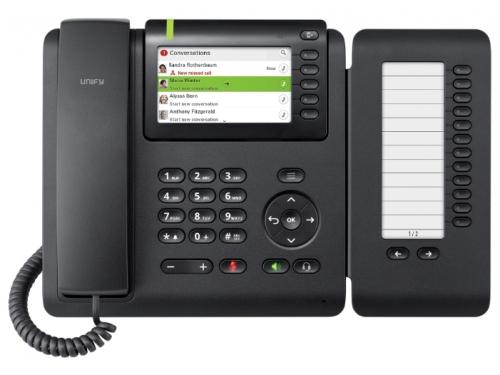IP-телефон Siemens OpenScape CP600, черный, вид 2