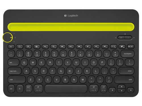 ���������� Logitech Multi-Device Keyboard K480 Bluetooth Black, ��� 1