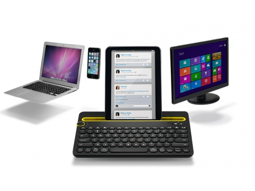 Клавиатура Logitech Multi-Device Keyboard K480 Bluetooth Black, вид 8