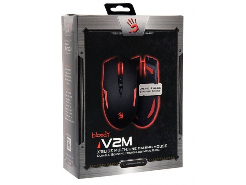 ����� A4Tech Bloody V2M game mouse Black USB, ������������� �����, ��� 2