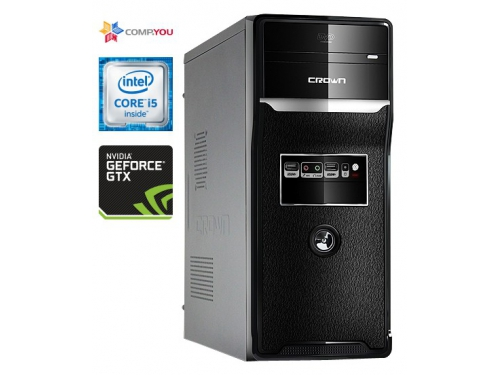 Системный блок CompYou Office PC W155 (CY.523490.W155), вид 1