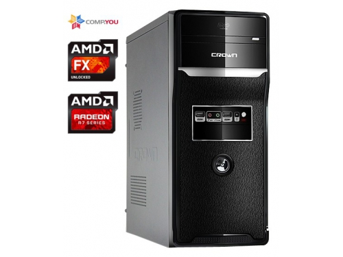 Системный блок CompYou Home PC H555 (CY.442607.H555), вид 1