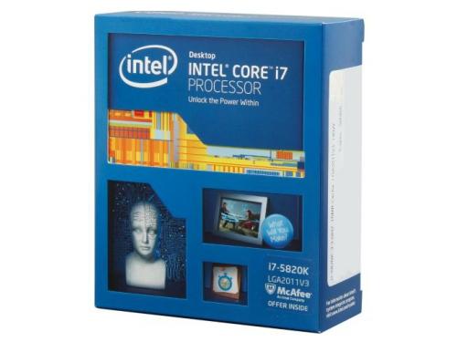 Процессор Intel Core i7-5820K Haswell-E (3300MHz, LGA2011-3, L3 15360Kb, Retail), вид 1