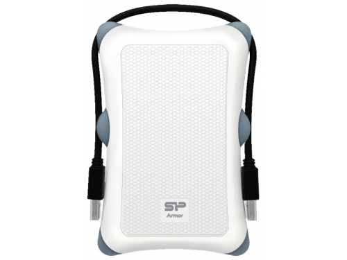 Жесткий диск Silicon Power Armor A30 2TB, белый, вид 1