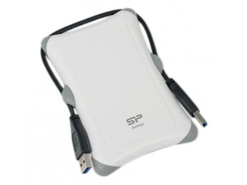 Жесткий диск Silicon Power Armor A30 2TB, белый, вид 6