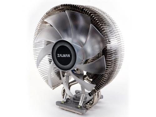 Кулер Zalman CNPS9800 MAX (синяя подсветка, 2011, 115x, 775, FMx, AMx), вид 4