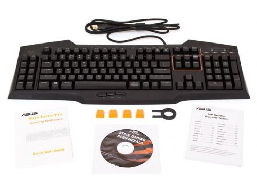 ���������� ASUS Strix Tactic Pro Black, USB, ��� 8