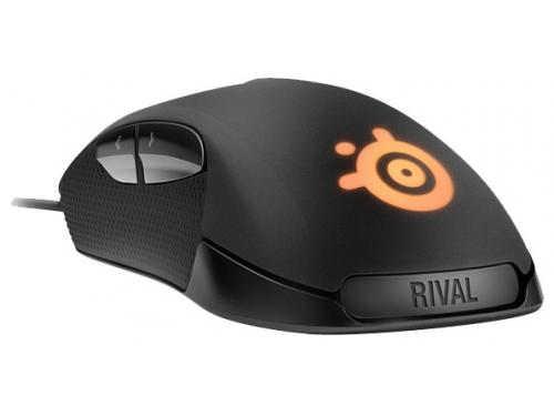 Мышка SteelSeries Rival 300 Black USB (62351), вид 2