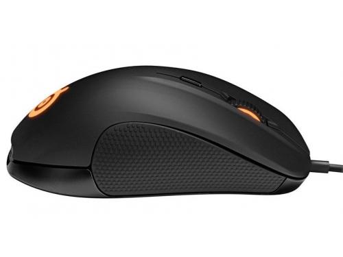 Мышка SteelSeries Rival 300 Black USB (62351), вид 3
