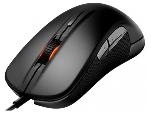 Мышка SteelSeries Rival 300 Black USB (62351), вид 1
