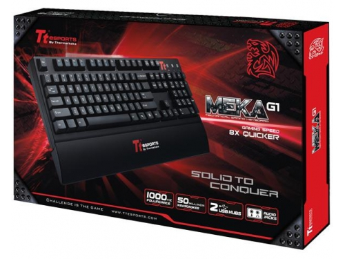 Клавиатура Tt eSPORTS by Thermaltake Mechanical Gaming keyboard MEKA G1 Black USB, вид 5