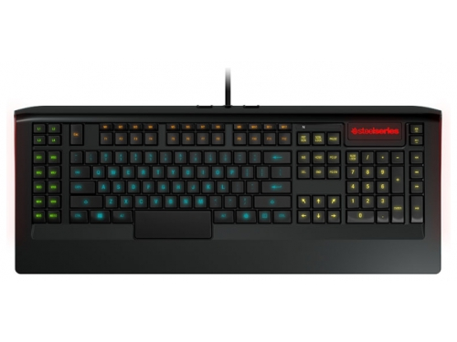 Клавиатура Steelseries APEX  (64157) черный USB Multimedia Gamer LED, вид 1
