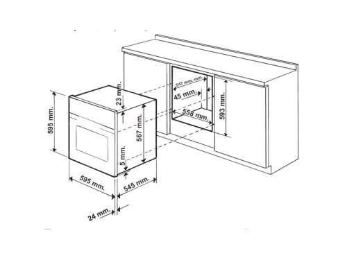Духовой шкаф Hotpoint-Ariston FTR 850 (OW), вид 3