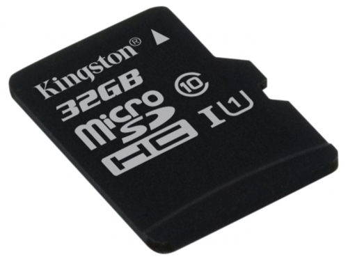 Карта памяти Kingston SDC10G2/32GBSP (32 Gb, UHS-I U1, Class10), вид 1