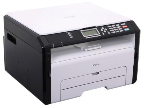Принтер лазерный ч/б Ricoh SP 210SU, вид 1