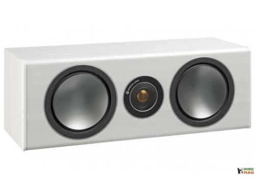 Акустическая система Monitor Audio Bronze Centre, белый ясень, вид 1