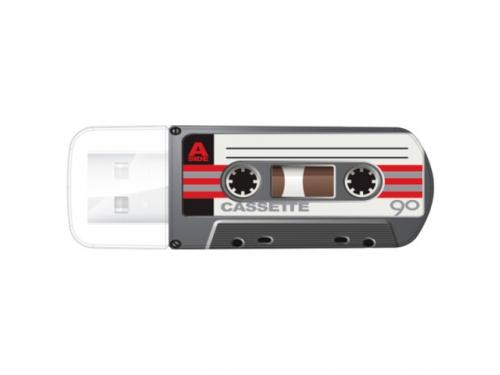 Usb-флешка Verbatim Store 'n' Go Mini Cassette Edition 32GB, черная, вид 1