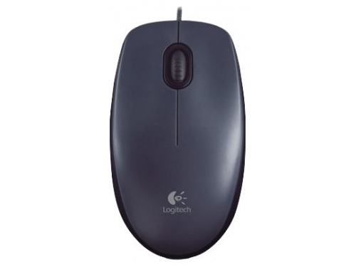 Мышка Logitech Mouse M90 Black USB, вид 2