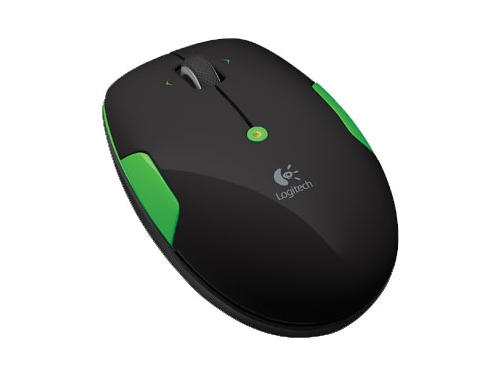 Мышка Logitech Wireless Mouse M345 Black-Green USB, вид 3