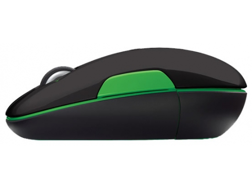 Мышка Logitech Wireless Mouse M345 Black-Green USB, вид 4