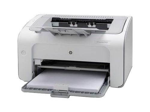 Лазерный ч/б принтер HP LaserJet Pro P1102 CE651A#ACB, вид 1