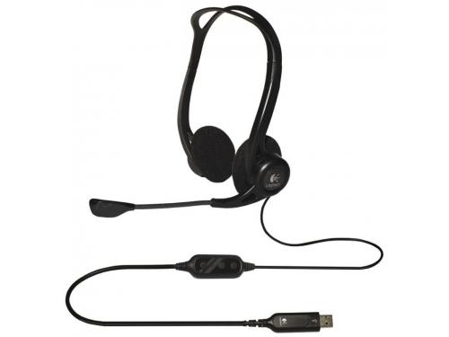 Гарнитура для пк Logitech PC Headset 960 USB, вид 2