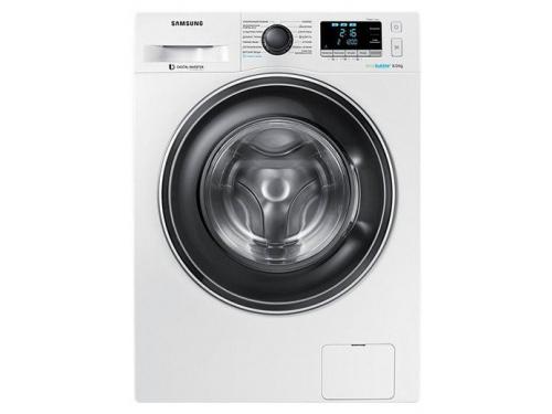 Машина стиральная Samsung WW80K62E07W, белая, вид 2
