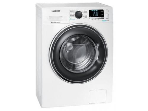 Машина стиральная Samsung WW80K62E07W, белая, вид 3