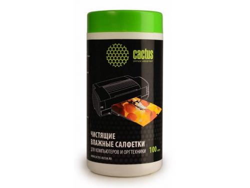 Чистящая принадлежность для ноутбука Салфетки Cactus CS-T1002, вид 1