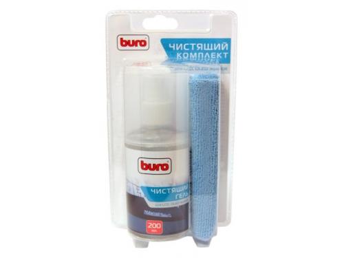 Чистящая принадлежность для ноутбука Buro BU-Glcd (салфетка и гель), вид 1