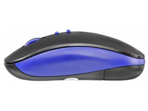 Мышь Oklick 595MB Bluetooth, черно-синяя, вид 3