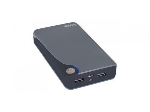 Аккумулятор универсальный Мобильный аккумулятор Buro RA-11000 (11000 mAh), серый/черный, вид 1